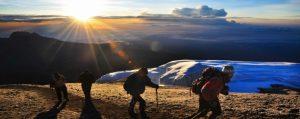 Kilimanjaro climb sunrise Tanzania
