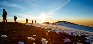 Kilimajaro sunrise trekking climb