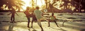 swahili coast kids playing ball